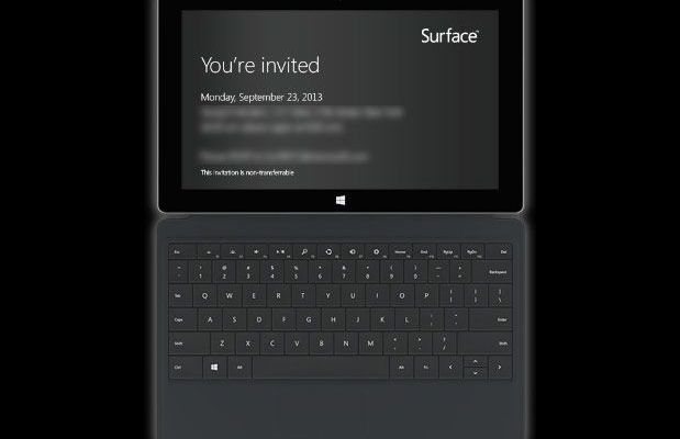 Surface Launch Event