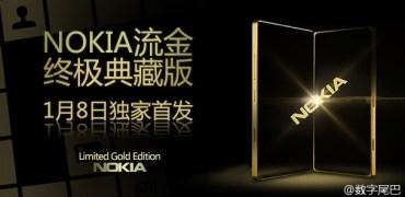 Nokia Lumia Limited Gold Edition