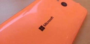 Microsoft Lumia 640 Rückseite orange