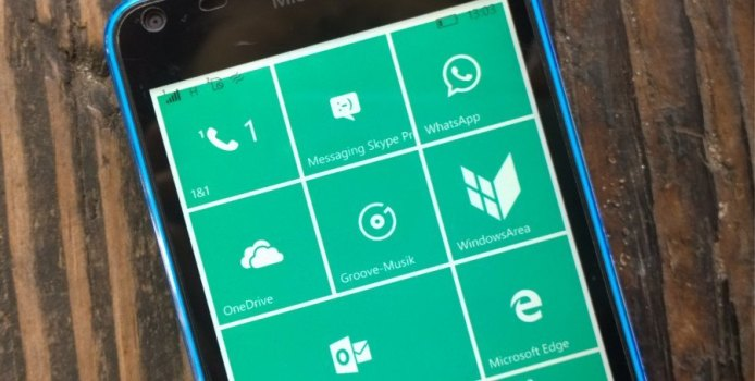 Windows 10 Mobile wird Berichten zufolge ausgeliefert