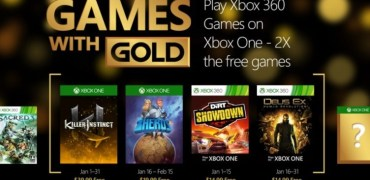 Games with Gold Januar 2016