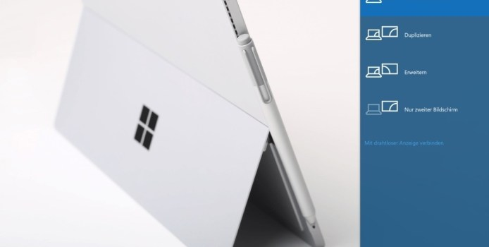 Surface Pro 4 – Workaround bei schwarzem Display nach Standby