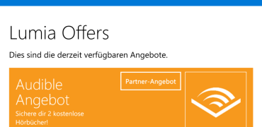 Audible Angebot Lumia Offers
