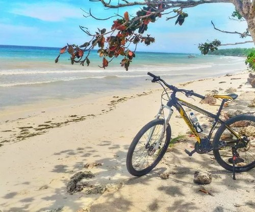 Panglao Island Bohol bike
