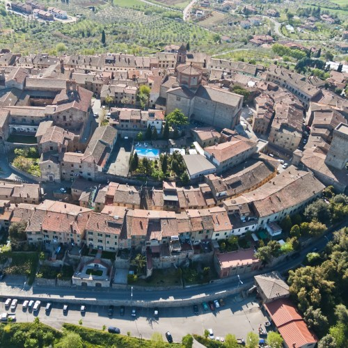 58951550 - the medieval town of lucignano in tuscany - italy