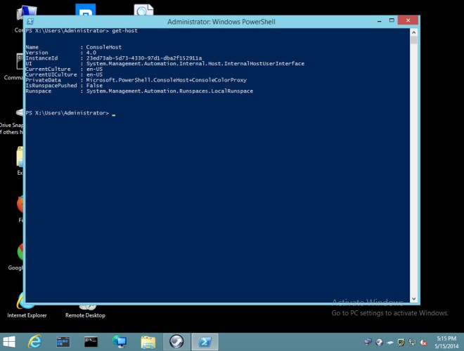 Powershell version 4