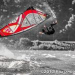 Free Falling Casey Hauser in Hood River by Richard Hallman