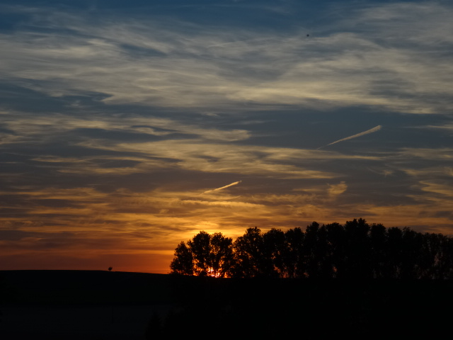 Sunset over Volxheim