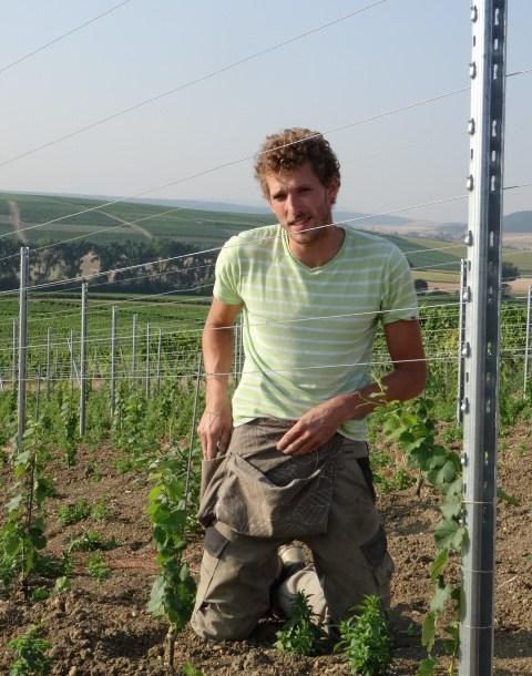 Sebastian Müller, third generation wine maker at Brühler Hof