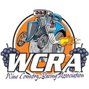 Wine Country Racing Association WCRA decal