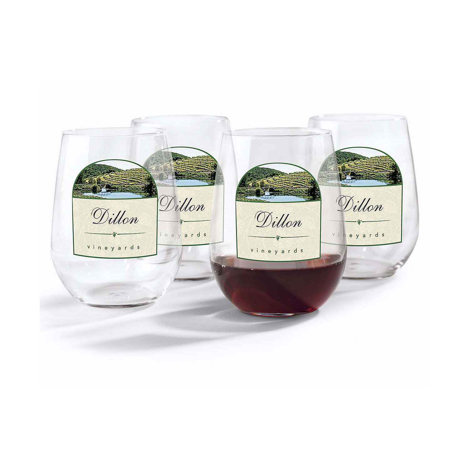 Fullsize Of Personalized Stemless Wine Glasses