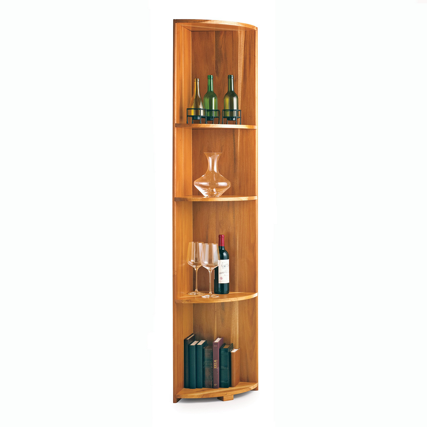 Fullsize Of Corner Wine Rack