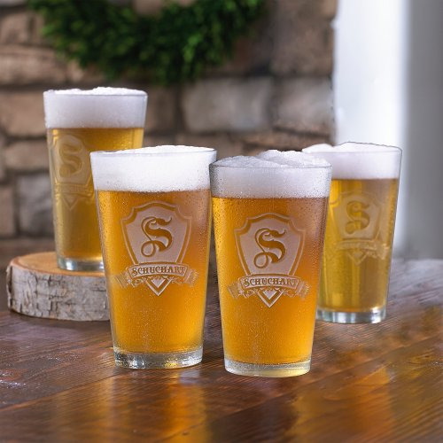 Medium Of Personalized Beer Glasses