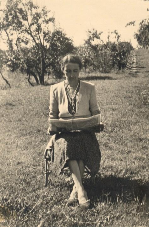 Maria Badellino Oddero, mother of Giacomo Oddero.