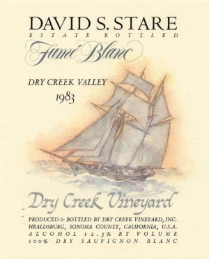 Dry Creek Vineyard Fume Blanc 1983