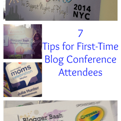 7 Tips for Your First Blog Conference