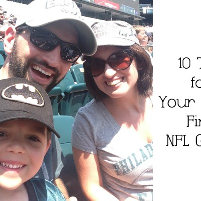 10 Tips for Your Child's First NFL Game