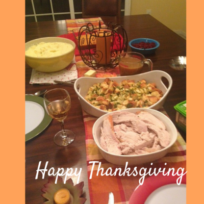 Thanksgiving for Three