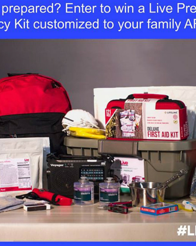 After Being Evacuated Twice I Now Live Prepared {Plus Giveaway}