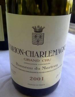 Journey's End benchmark tasting: Chardonnay