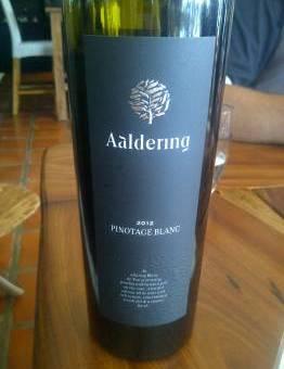 Aaldering Pinotage Blanc 2012