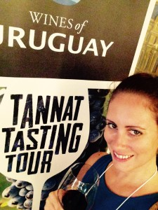 Wine Trail Traveler with Erin Sullivan at Wines of Uruguay tasting, Washington, DC
