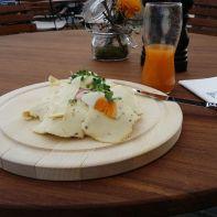 Steirisches Käsebrot (ist ein gutes Brot)
