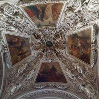 Barockes Gewölbe im Salzburger Dom