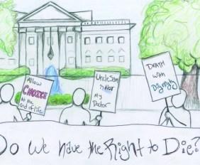 Cartoon by Carlie Gillespie