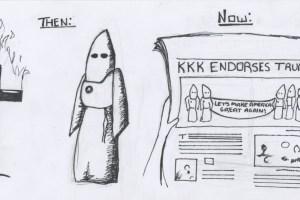 kkk endorses trump