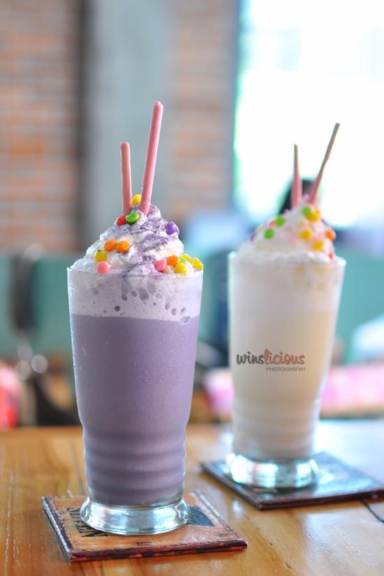 Masakini Taro Milkshake