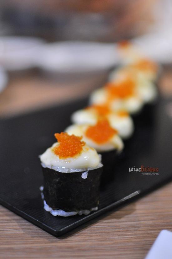 Baked Sushi Salmon KOI