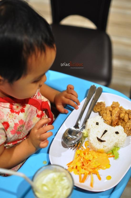 Pilihan menu untuk anak