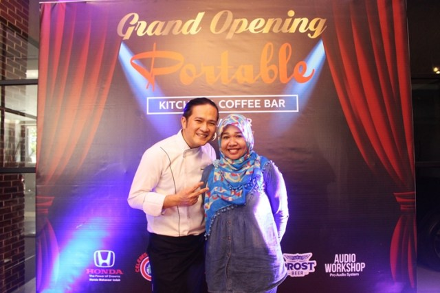 Bersama Chef Chandra Yudaswara, Owner Portable Kitchen and Coffee Bar