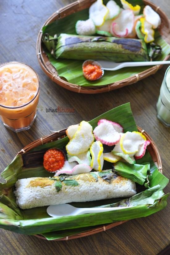 Nasi Bakar enak Makassar