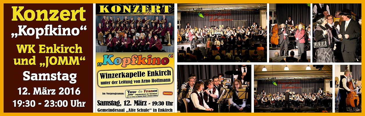 """2016 – Konzert """"Kopfkino"""""""