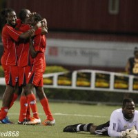 Caledonia leads Lucozade Shield goal spree