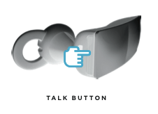 jawbone icon talk button