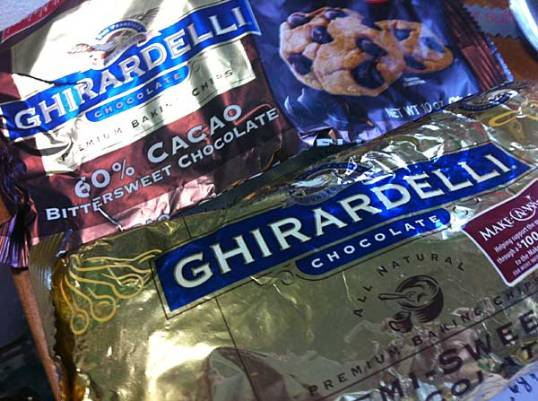 Ghirardelli chips