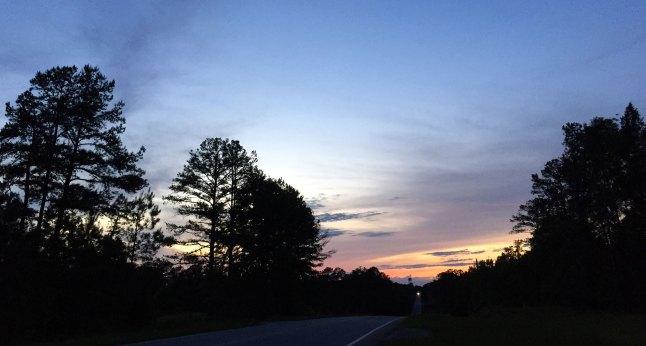 Sunset south georgia