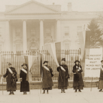 1917, picketing the white house
