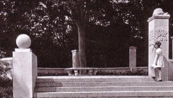 Denkmal auf dem Krähenberg, Aufnahme um 1932 - Archiv Uwe Hinz
