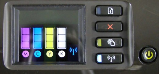 HP Officejet Pro 8100 ePrinter Control Panel