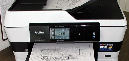 Brother MFC-J6925dw as tested