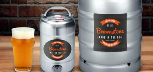 keg label