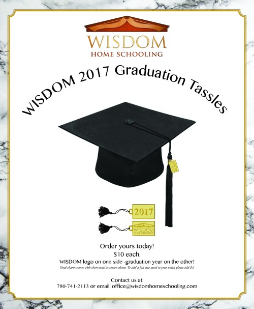 Medium Of Graduation Tassel Side