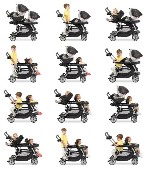 Medium Of Graco Double Stroller