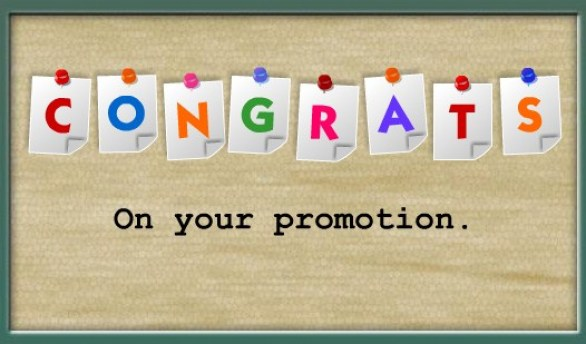 Best Decent Promotion Wishes 2016