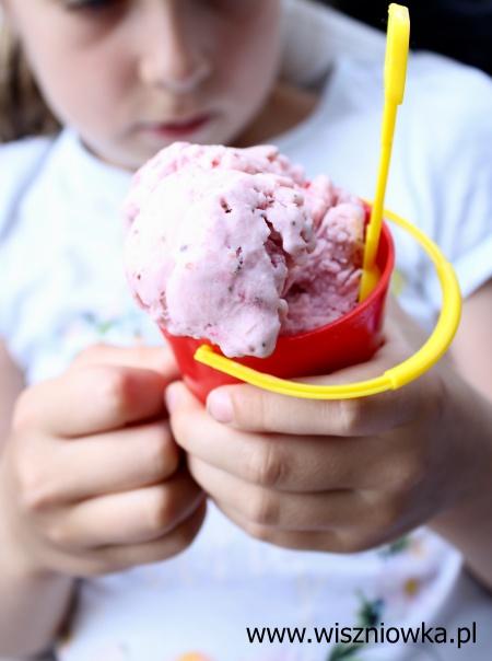 Domowe lody truskawkowe
