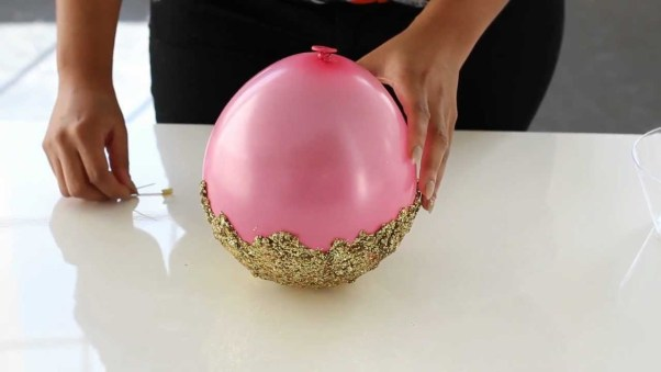 Witfaced by amy sherman for Glitter balloon bowl